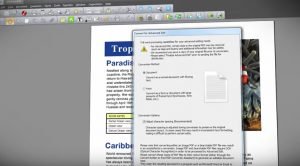 Edit you document with full word processing abilities