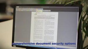 Comprehensive document security